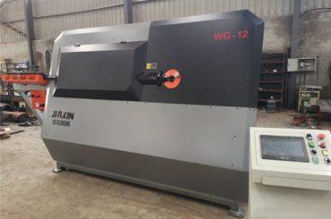 fabrikada temir tayoq CNC avtomatik qurilish ustunini bükme mashinasi